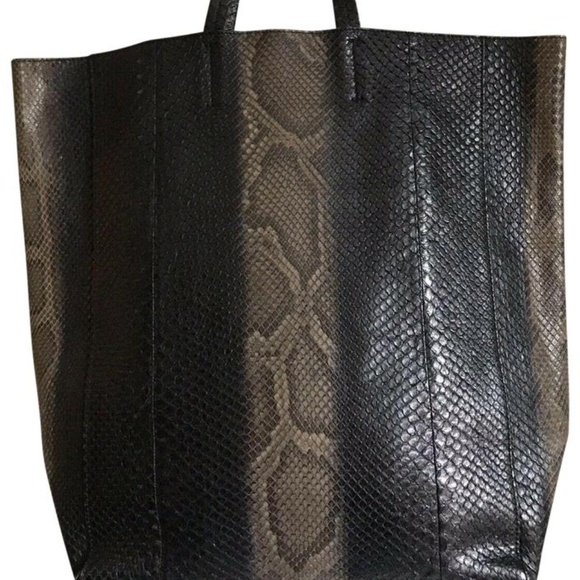 Celine Handbags - CELINE Python Tote Msrp $3,400